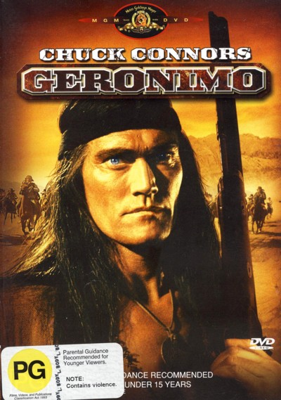 Geronimo on DVD image