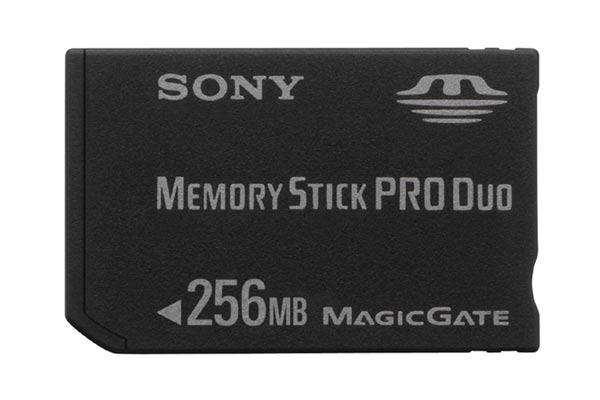 Sony Memory Stick PRO DUO 256MB MSXM256S