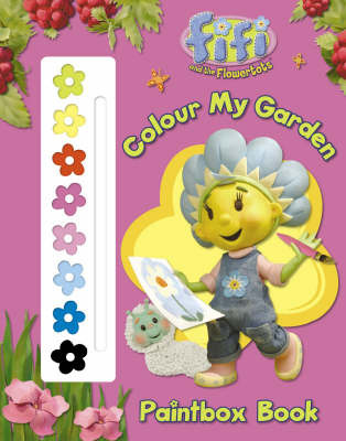 Colour My Garden Paintbox Book