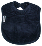 Silly Billyz Towel Large Bib (Navy)
