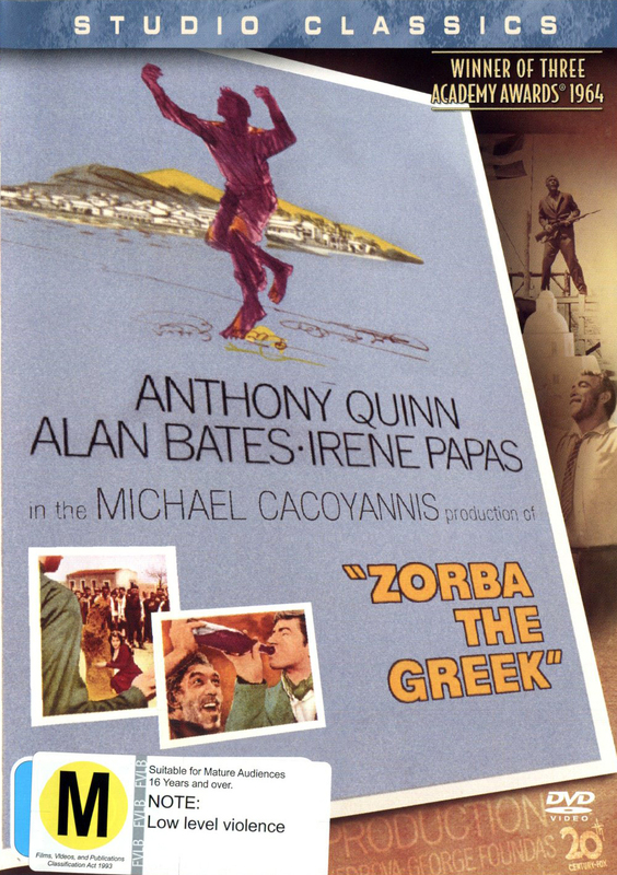 Zorba The Greek (Studio Classics) on DVD