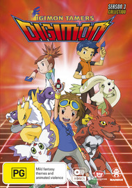 Digimon Tamers - Season 3 Collection on DVD image