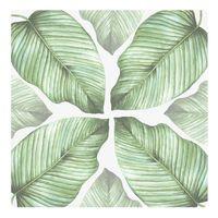 Botanical Ceramic Coaster - Banana Leaf