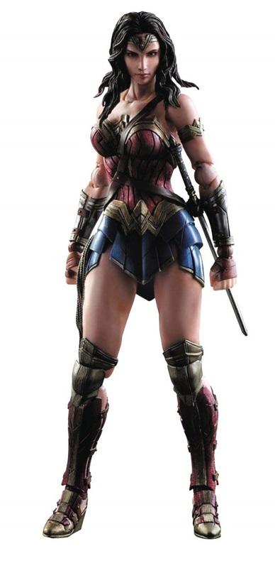 Batman vs Superman: Wonder Woman - Play Arts Kai Figure