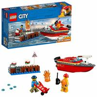 LEGO City: Dock Side Fire (60213)