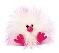 "Jellycat: Crazy Chick (Pink & White) - 4"" Plush"