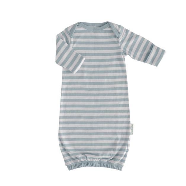 Woolbabe: Merino/Organic Cotton Gown - Tide/0-3 Months