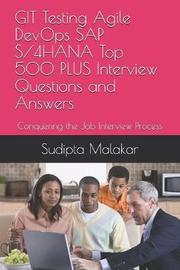 GIT Testing Agile DevOps SAP S/4HANA Top 500 PLUS Interview Questions and Answers by Sudipta Malakar image