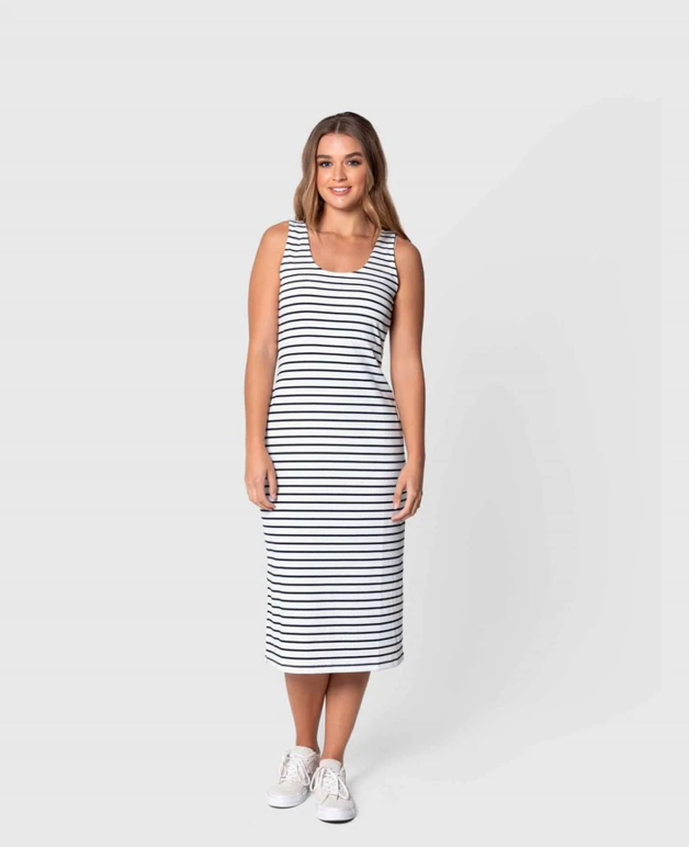 Elwood: Bets Dress (Stripes) - 8