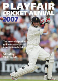 Playfair Cricket Annual: 2007 by Bill Frindall image