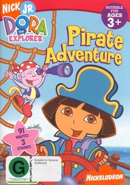 Dora The Explorer - Pirate Adventure on DVD image