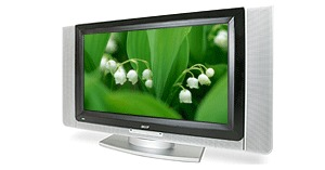 Acer AT3201W 32 WIDESCREEN LCD TV 1366x768 550cd/m2 800:1 16.7m 12ms Grey to Grey