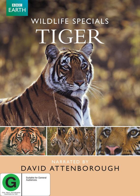 Wildlife Specials - Tiger on DVD
