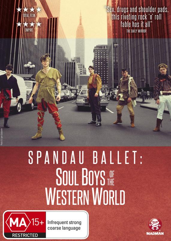 Spandau Ballet: Soul Boys Of The Western World on DVD