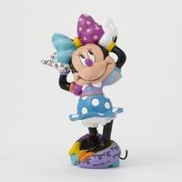 Romero Britto - Minnie Mouse Arms Out Mini Figurine