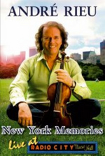Andre Rieu - New York Memories: Live At Radio City Music Hall on DVD