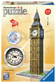 Ravensburger: Big Ben with Clock - 3D Puzzle