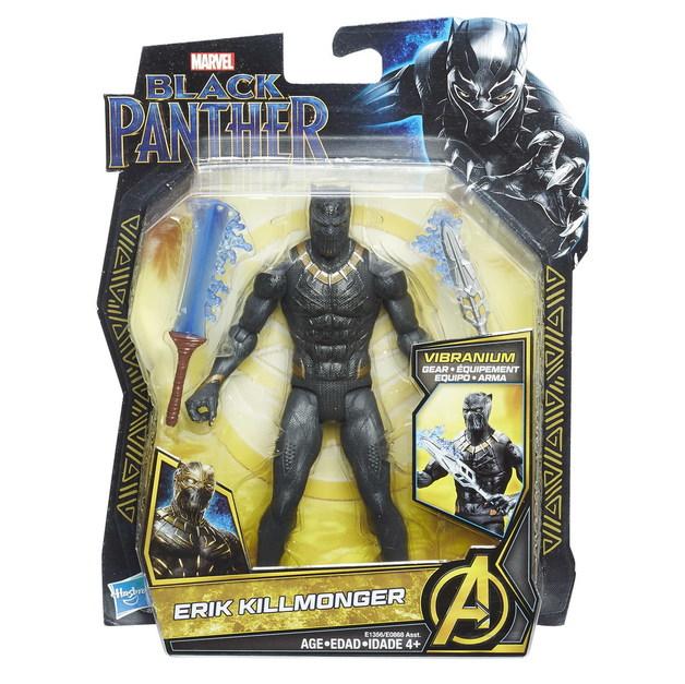 "Marvel's Black Panther: Erik Killmonger - 6"" Action Figure"