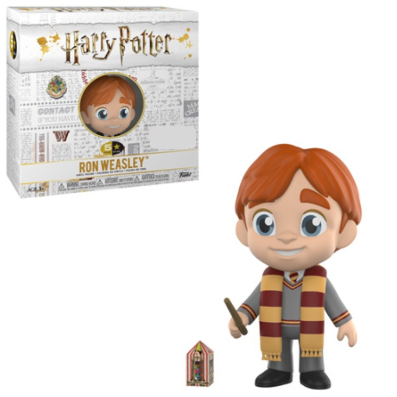 Harry Potter: Ron Weasley (with Scarf) - 5-Star Vinyl Figure image