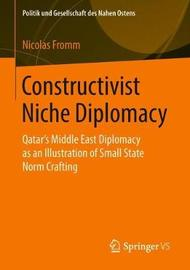 Constructivist Niche Diplomacy by Nicolas Fromm image