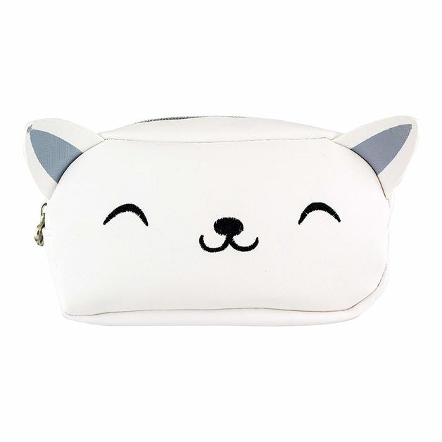 My Kawaii: 'Meow Do I Look' Toiletry Bag