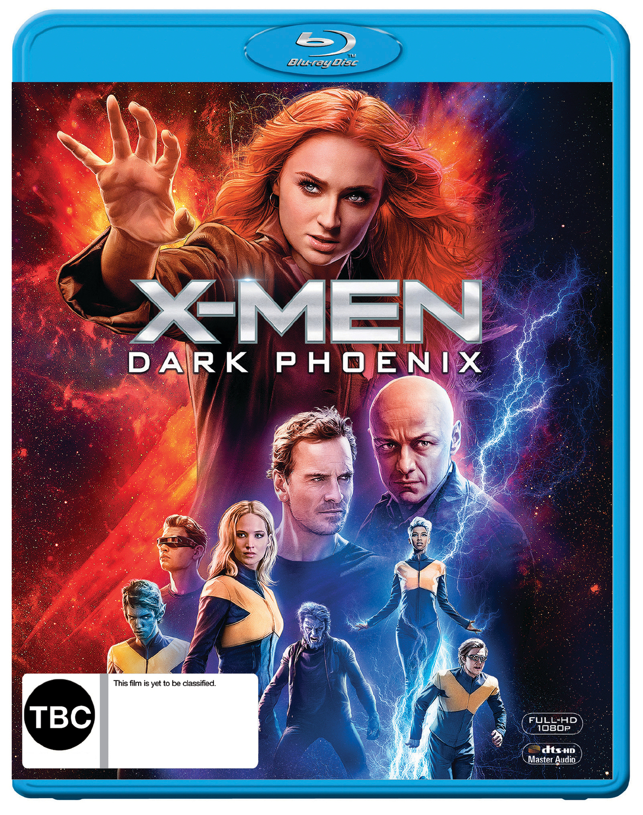 X-Men: Dark Phoenix on Blu-ray image