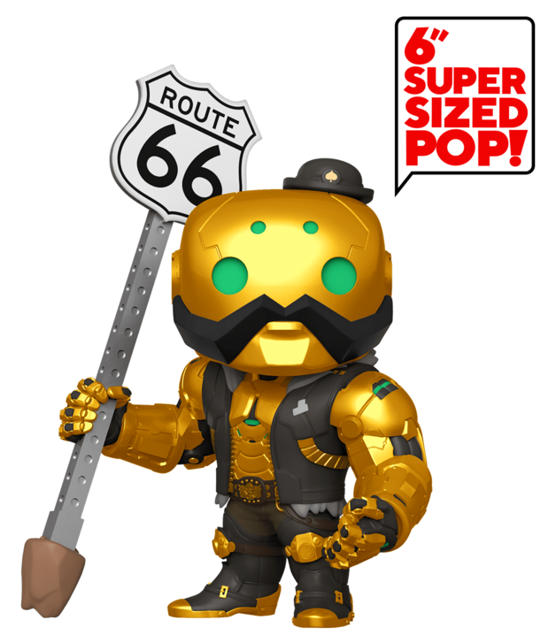 "Overwatch: B.O.B. (Gold Skin) - 6"" Pop! Vinyl Figure"