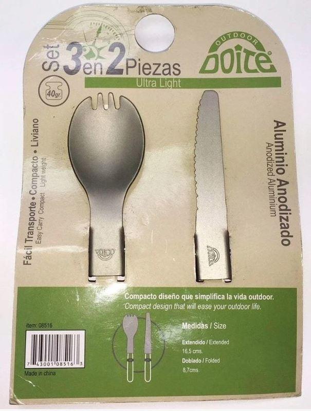 Doite Fork/Spoon + Knife