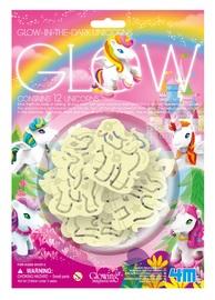 4M: Glow-In-The-Dark Unicorns - Wall Stickers Set image