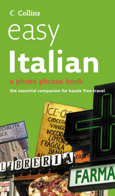 Easy Italian CD Pack: Photo Phrase Book and Audio CD image