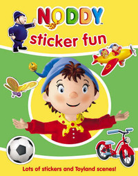 Noddy Sticker Fun by Enid Blyton image