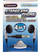 Stereo Earphone 4in1 for Nintendo DS