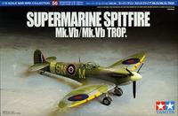 Tamiya British Supermarine Spitfire Mk.Vb / Mk.Vb TROP 1/72 Aircraft Model Kit