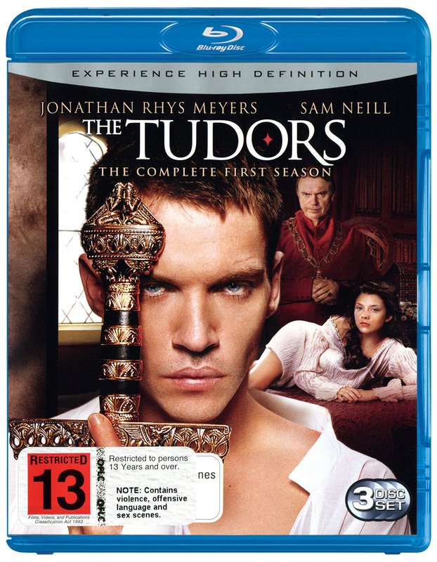 The Tudors: The Complete First Season (3 Disc Set) on Blu-ray
