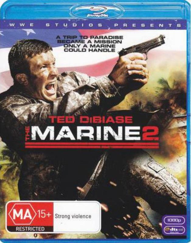 The Marine 2 on Blu-ray