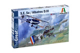 Italeri S.E.5a / Albatros D.III 1:72 Scale Model Kit