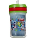 NUK: Advanced Insulated Straw Cup - Green