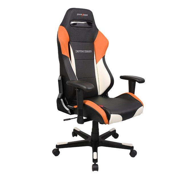 DXRacer Drifting Series Gaming Chair (Black, White and