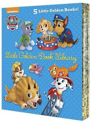 Paw Patrol Little Golden Book Library (Paw Patrol) by Various ~