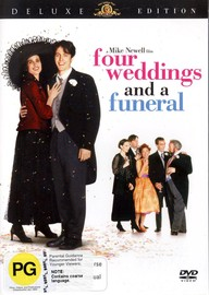 Four Weddings And A Funeral on DVD image