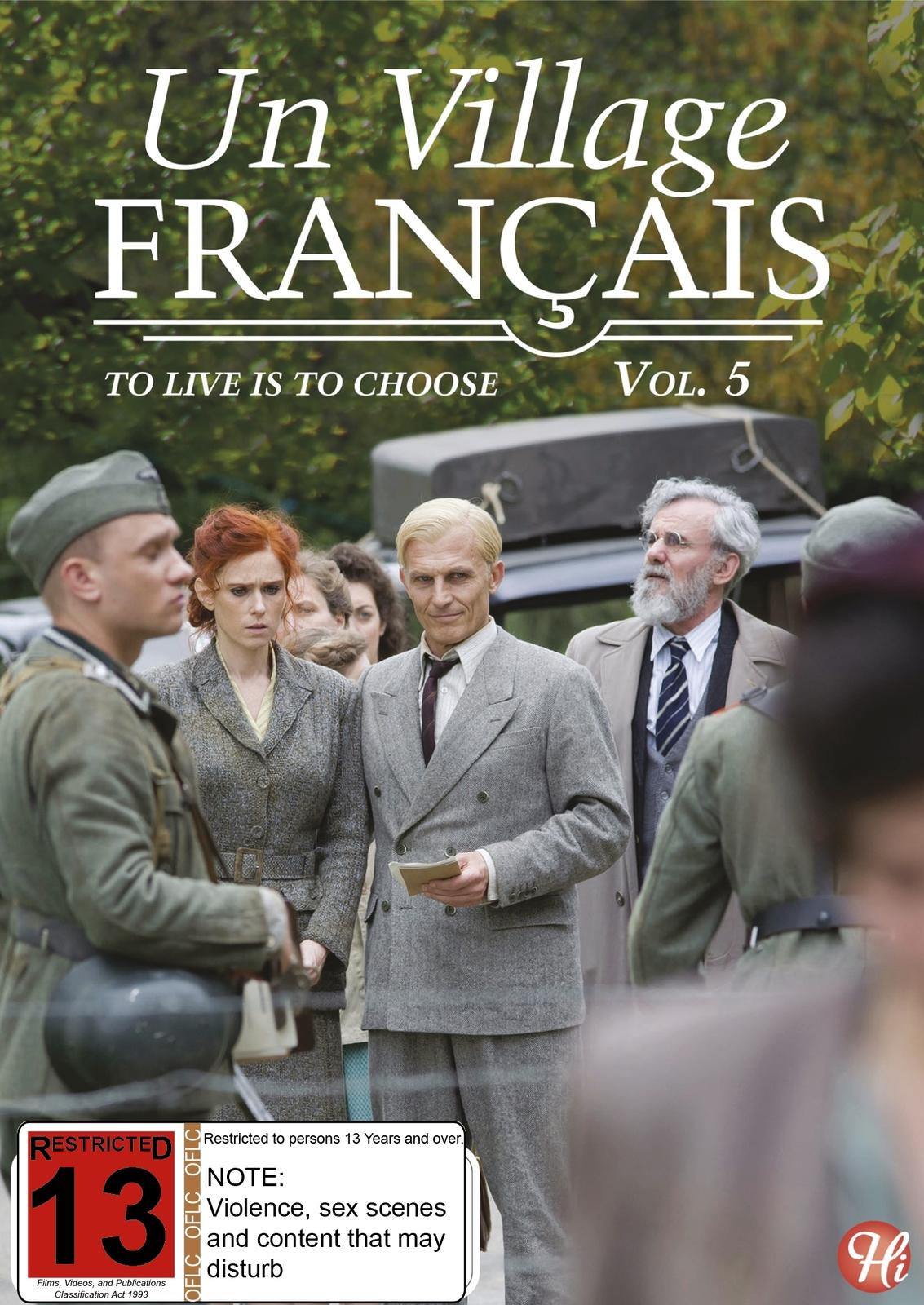 Un Village Francais - Vol. 5 on DVD image