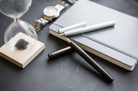 Lamy aion Fountain Pen - Olive/Silver (Medium) image