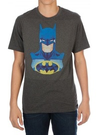 DC Comics: Batman Embroidered - T-Shirt (Small)
