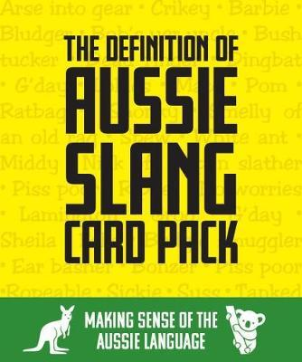 The Definition of Aussie Slang - Card Pack