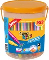 Bic: Kids Cascade Markers (Pack of 80)