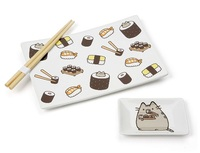 Pusheen: Sushi Plate - Dining Gift Set
