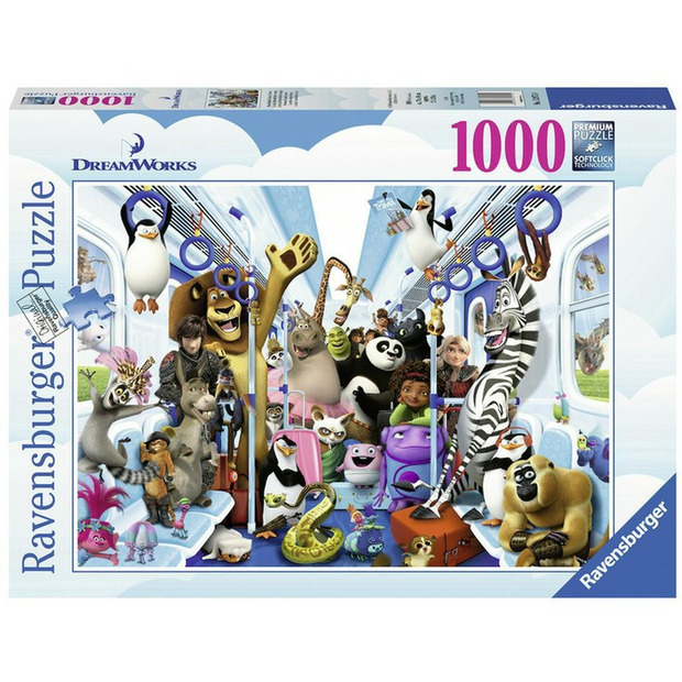 Ravensburger: 1,000 Piece Puzzle - Disney Moments (Family on Tour)
