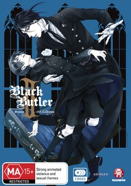 Black Butler II (Kuroshitsuji II) Season 2 + Ova Collection on DVD