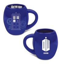 Doctor Who - Oval Ceramic Mug