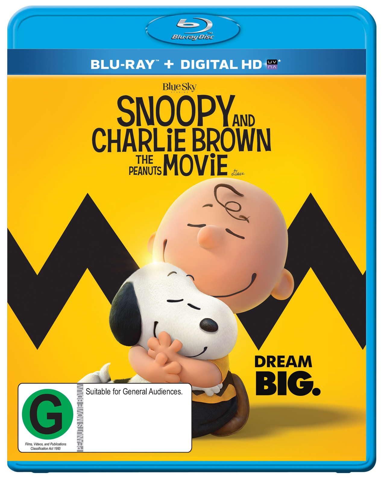 Snoopy And Charlie Brown The Peanuts Movie on Blu-ray image